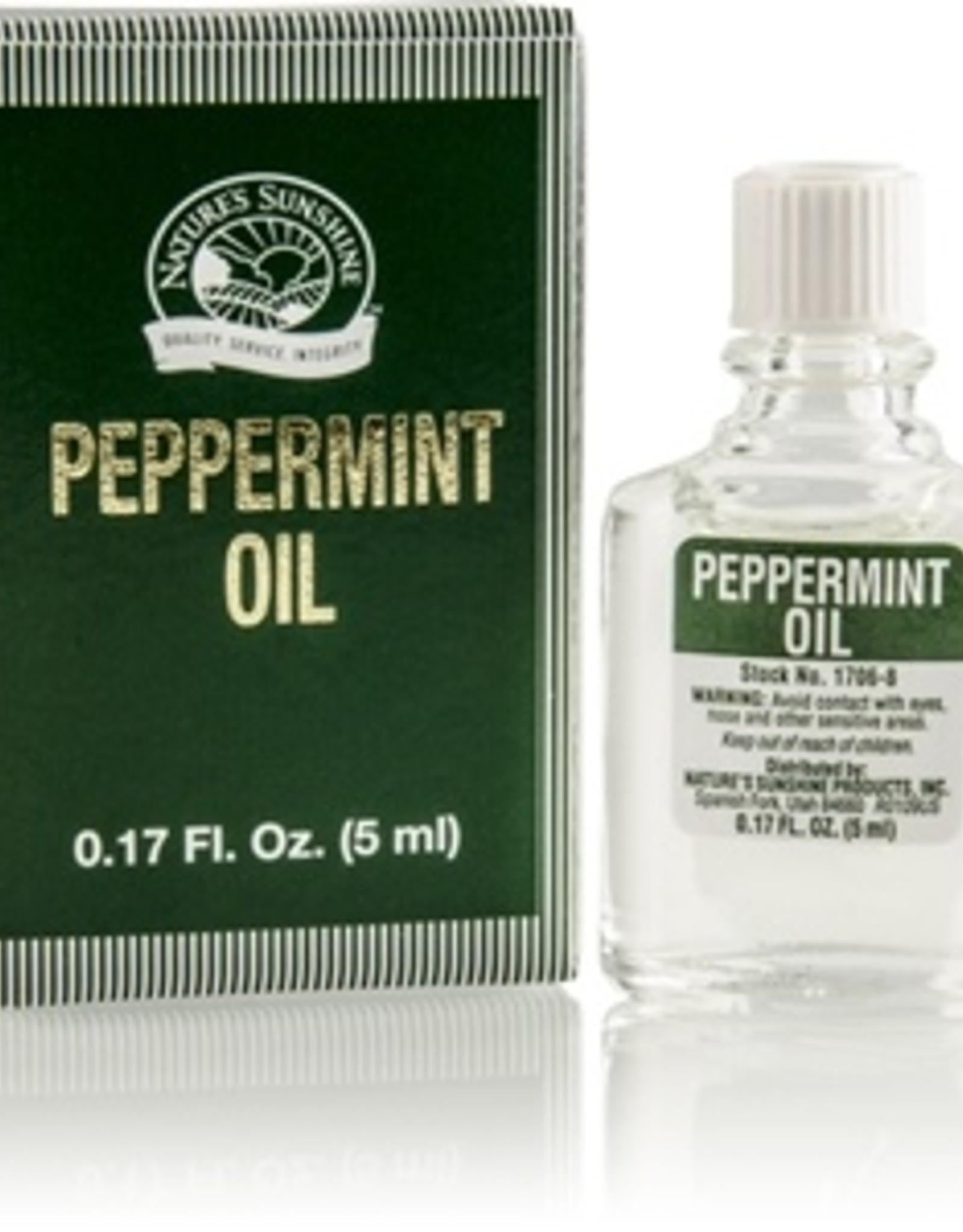 Nature's Sunshine Peppermint Oil 0.17 fl. oz. NSP