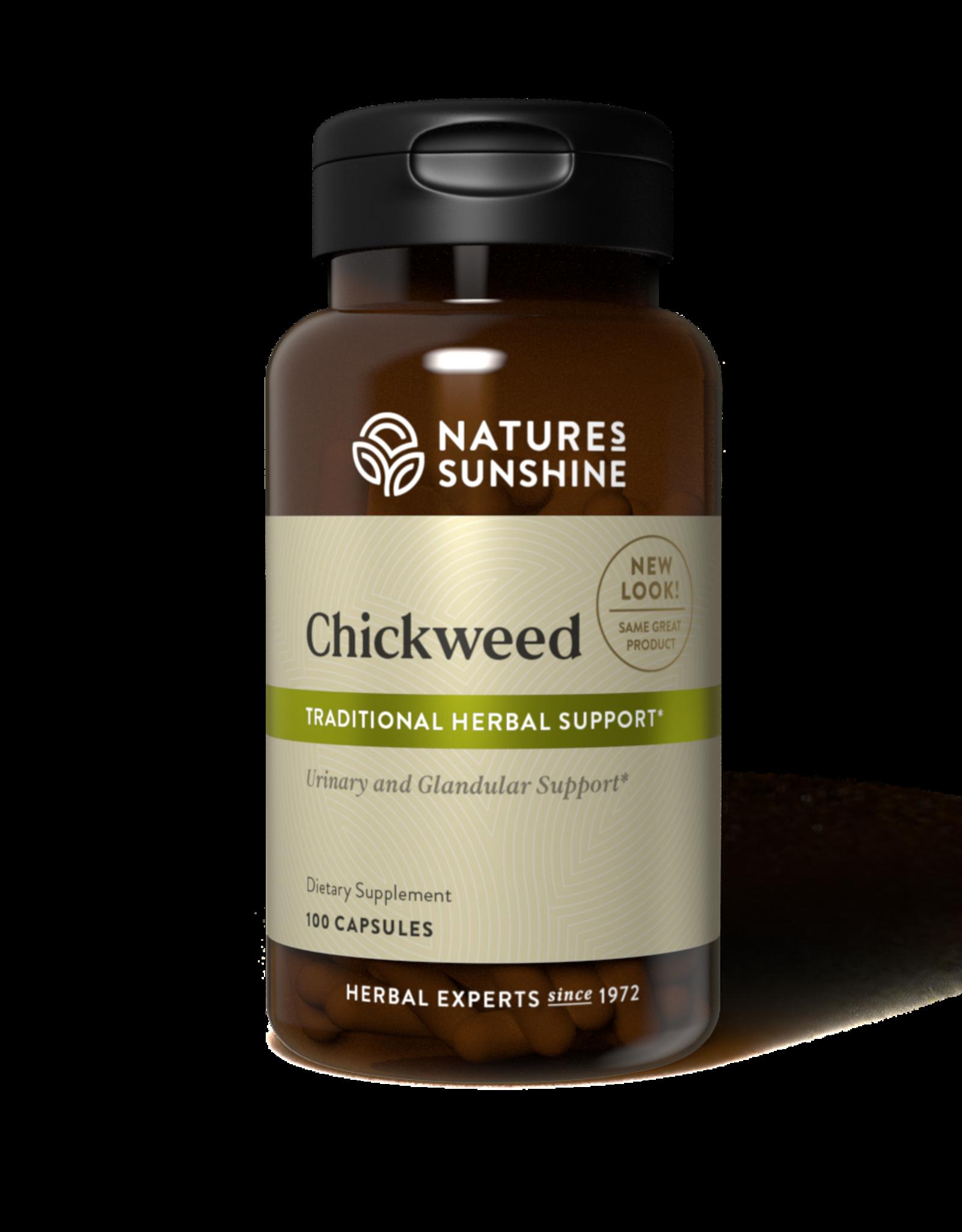 Nature's Sunshine Chickweed (100 caps) (ko)