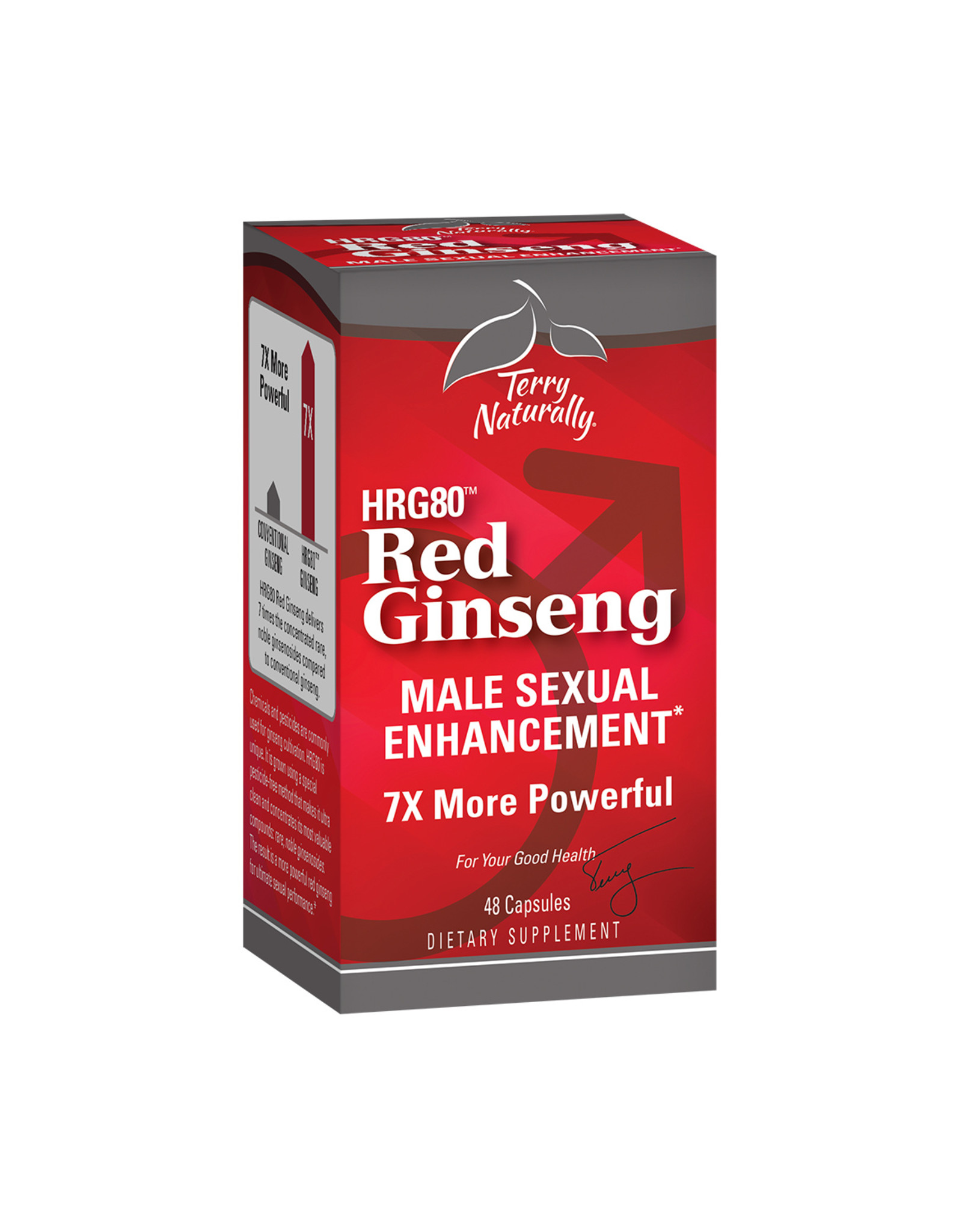 EuroPharma Red Ginseng Male Sexual Enhancement 60ct
