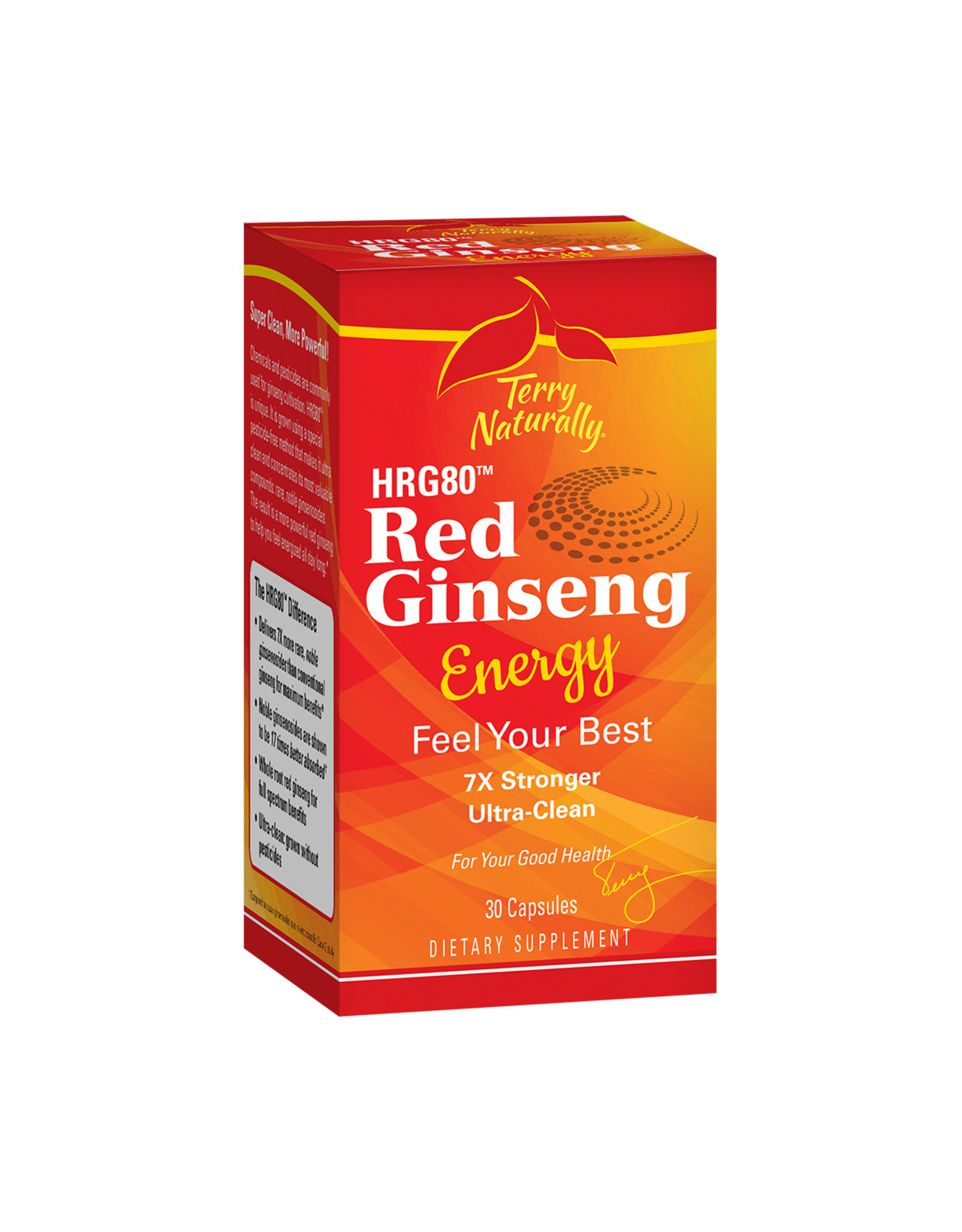 EuroPharma Red Ginseng Energy 60ct