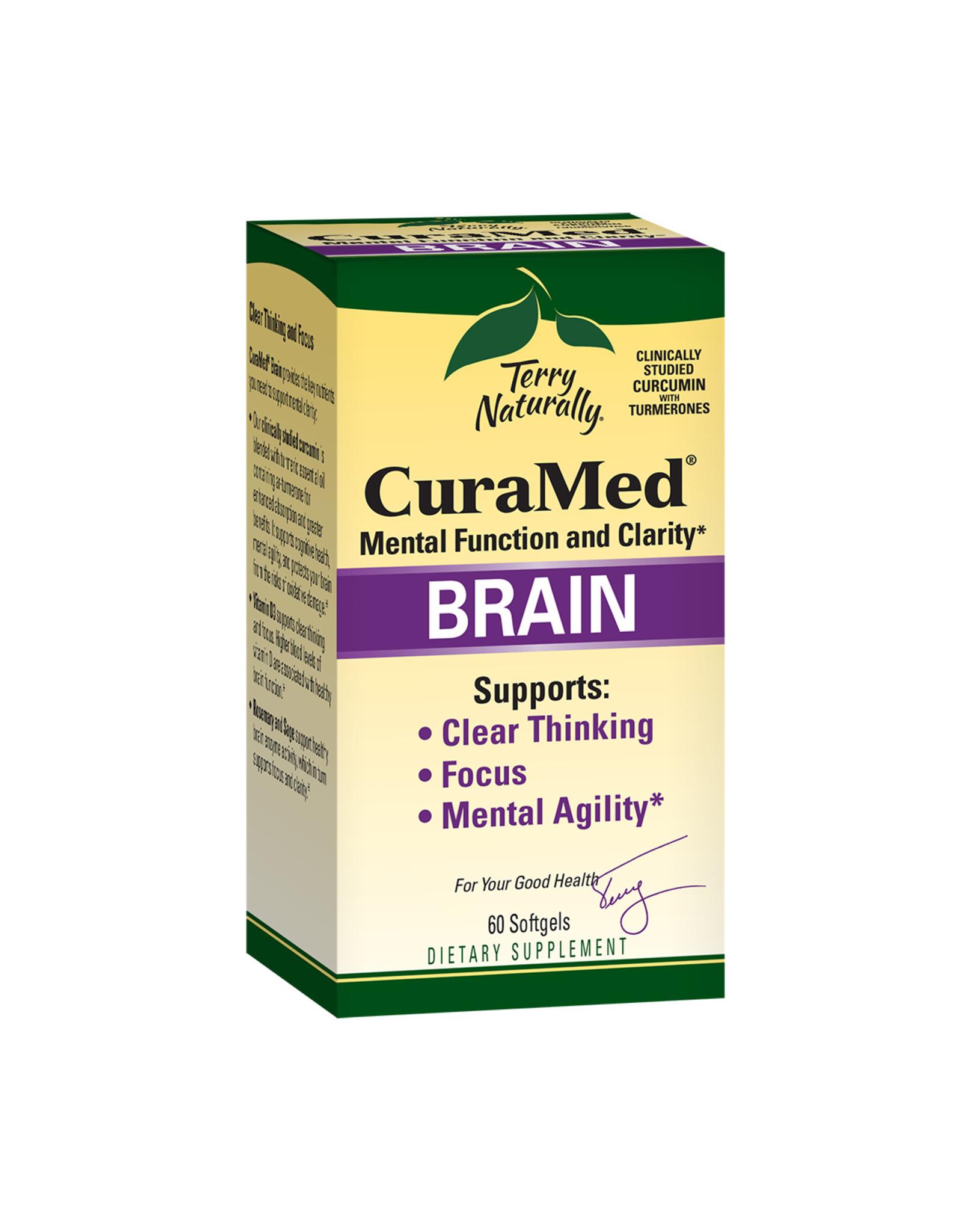 EuroPharma CuraMed Brain 60ct