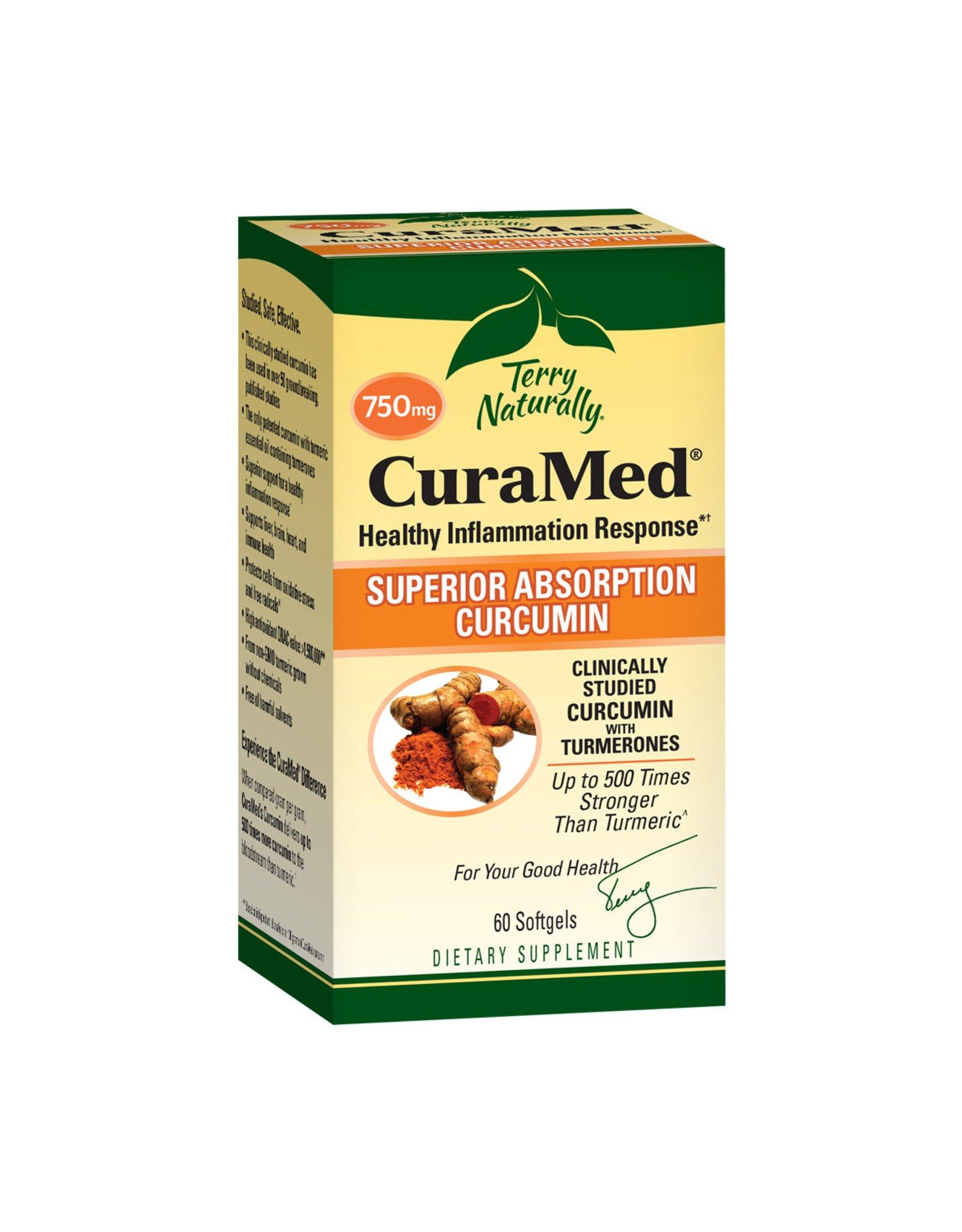 EuroPharma CuraMed 750 mg 120 Softgels