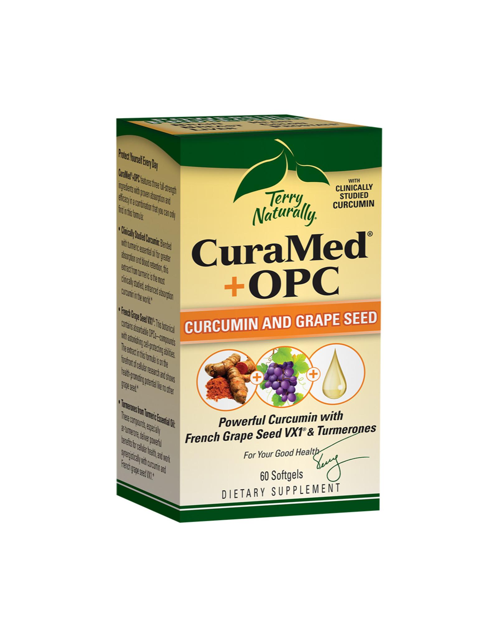 EuroPharma CuraMed + OPC 60ct