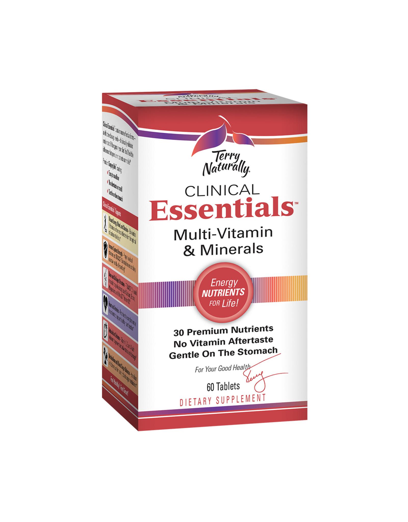 EuroPharma Clinical Essentials Multi-Vitamin & Minerals 60ct