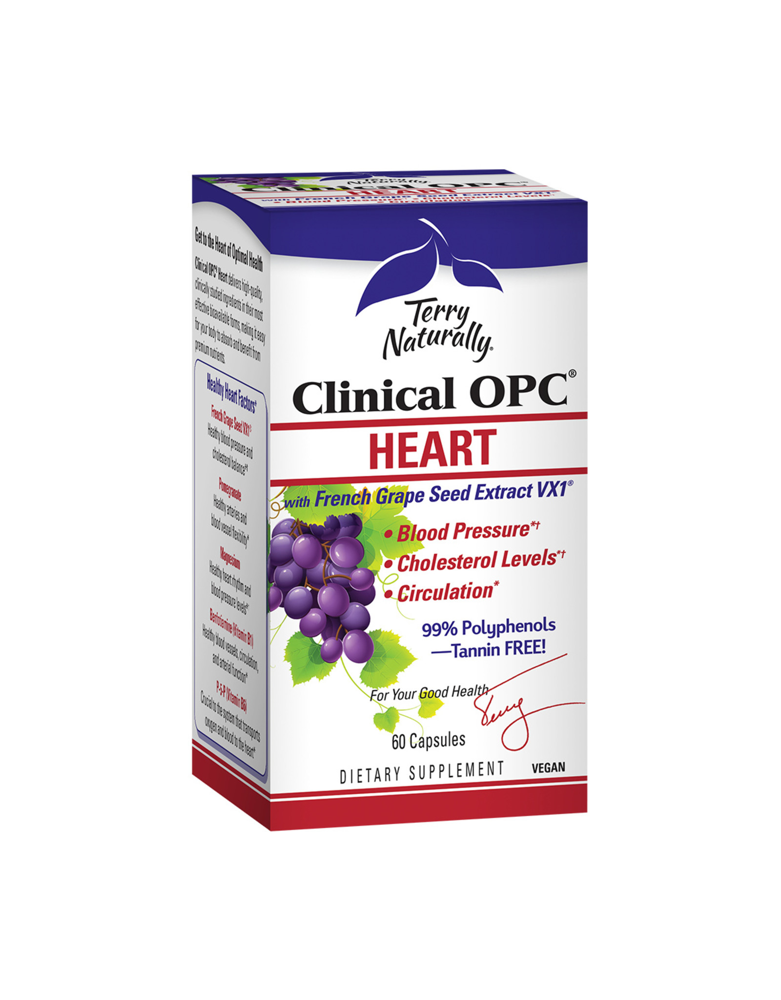 EuroPharma Clinical OPC Heart 60ct