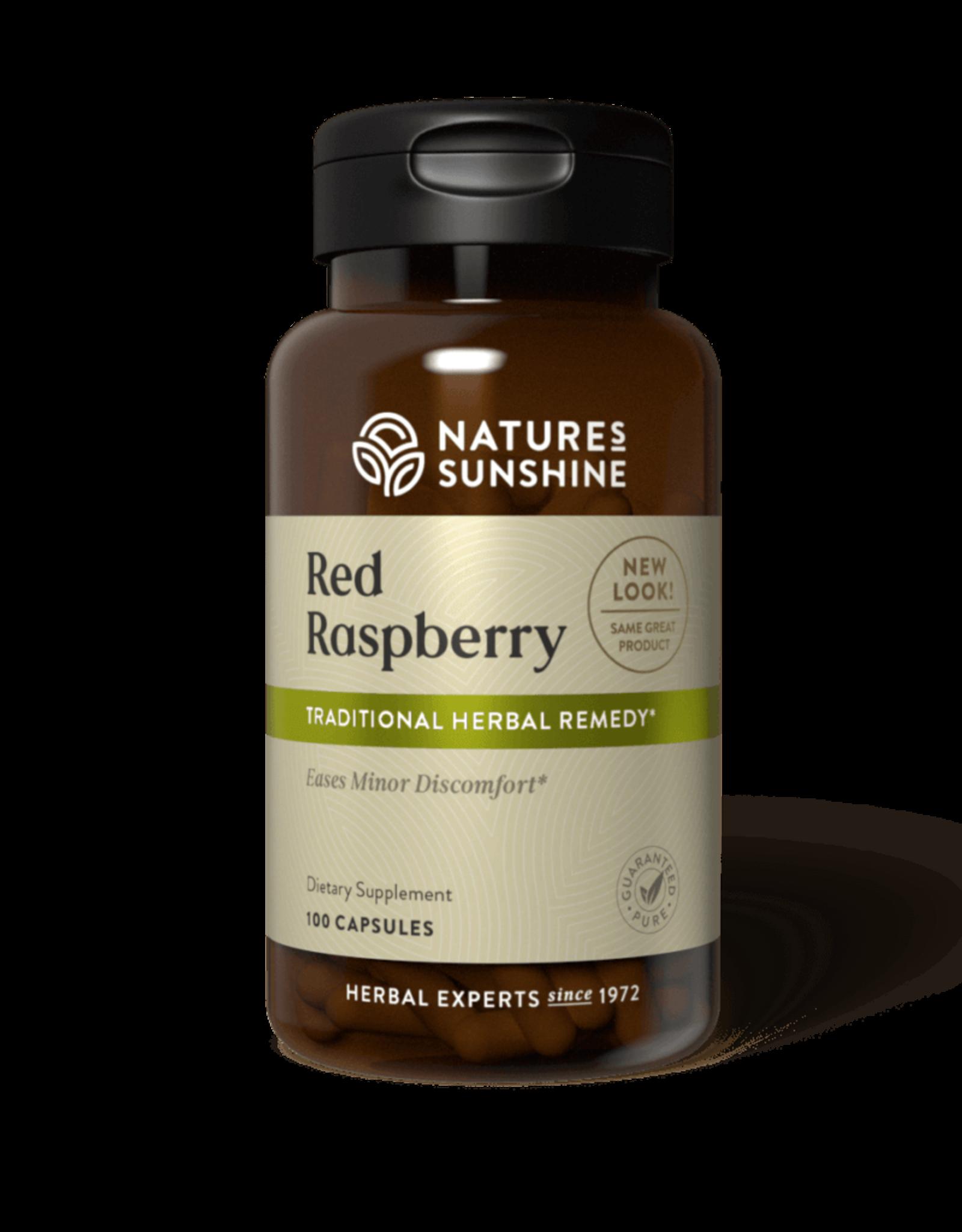 Nature's Sunshine Red Raspberry (100 caps)
