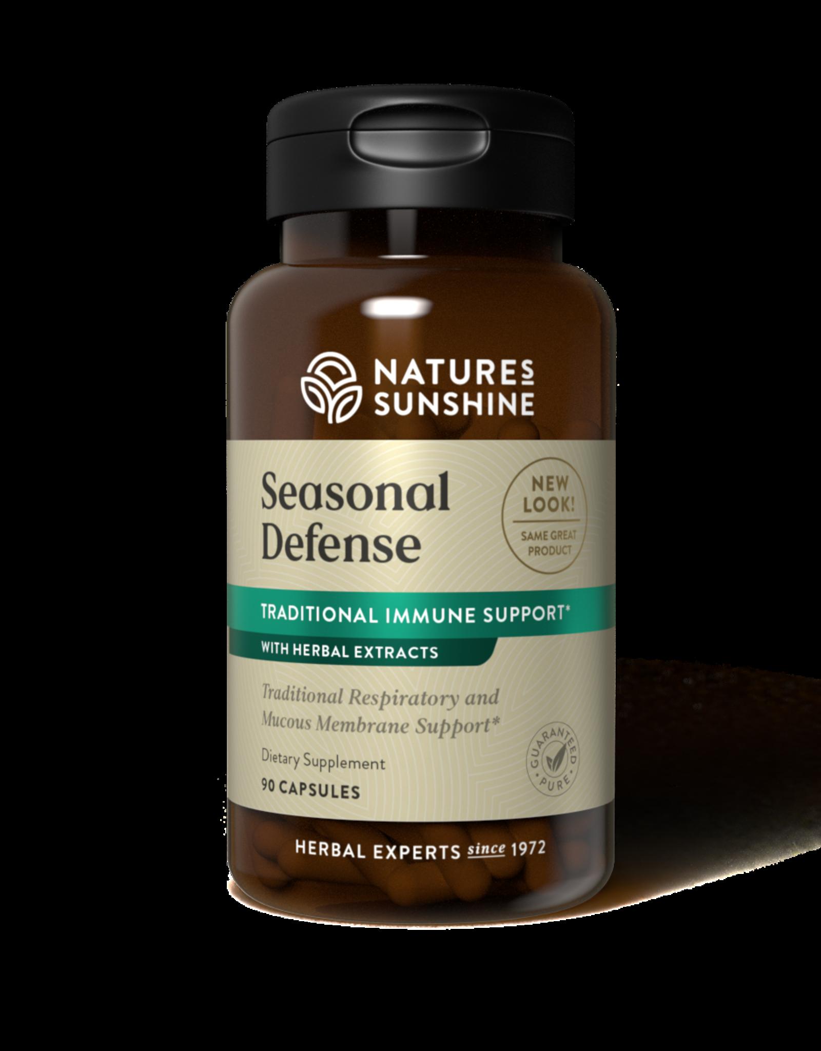 Nature's Sunshine Seasonal Defense (90 caps) (ko)