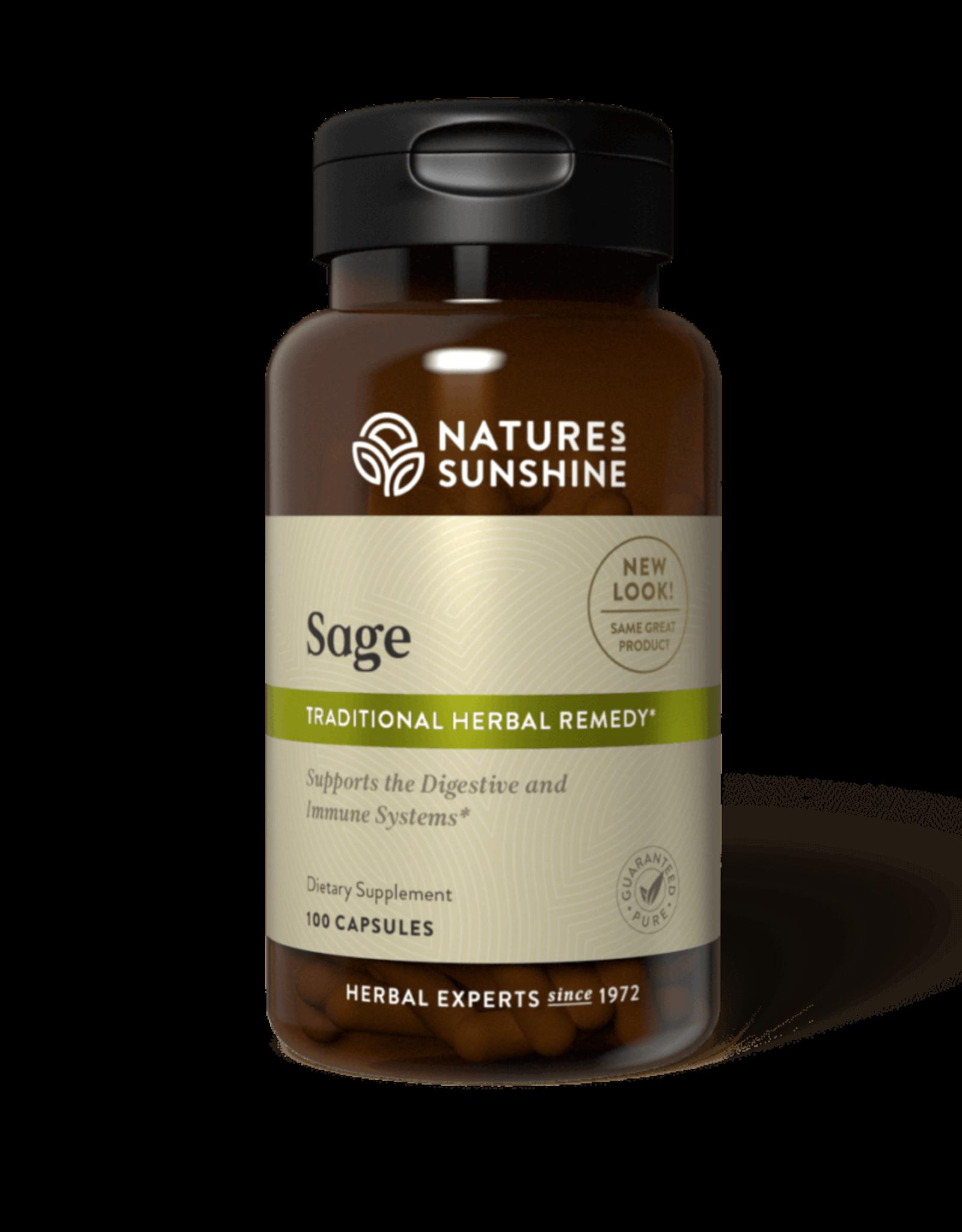 Nature's Sunshine Sage (100 caps) (ko)