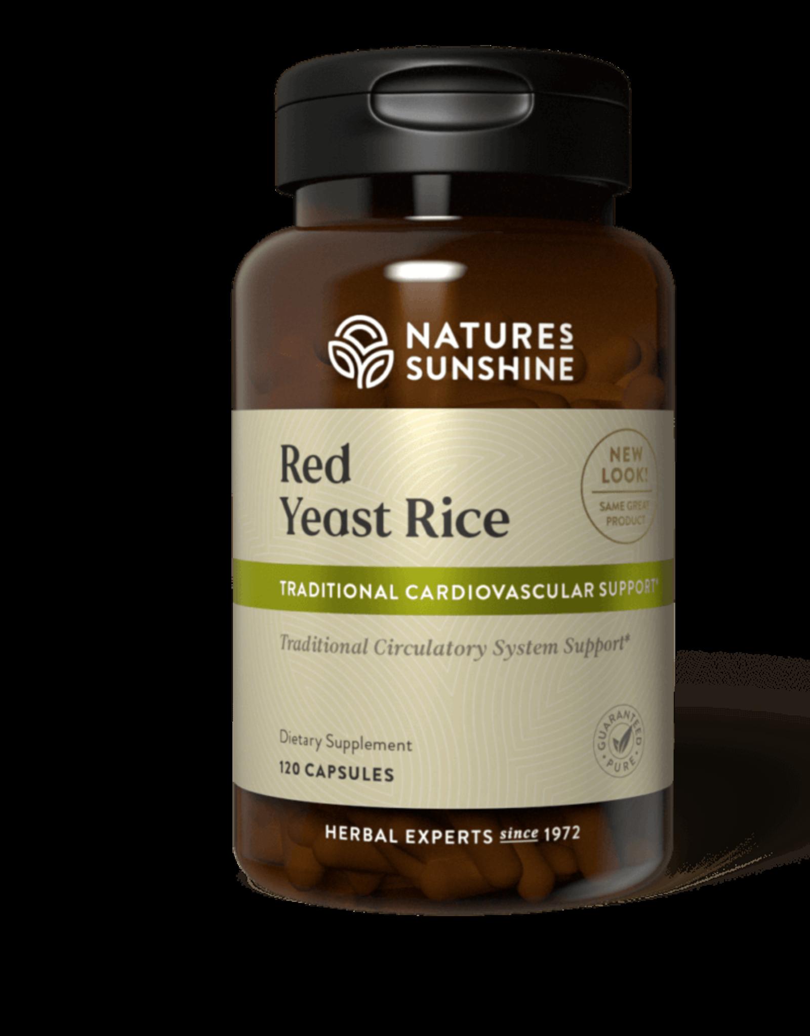 Nature's Sunshine Red Yeast Rice (120 caps) (ko)