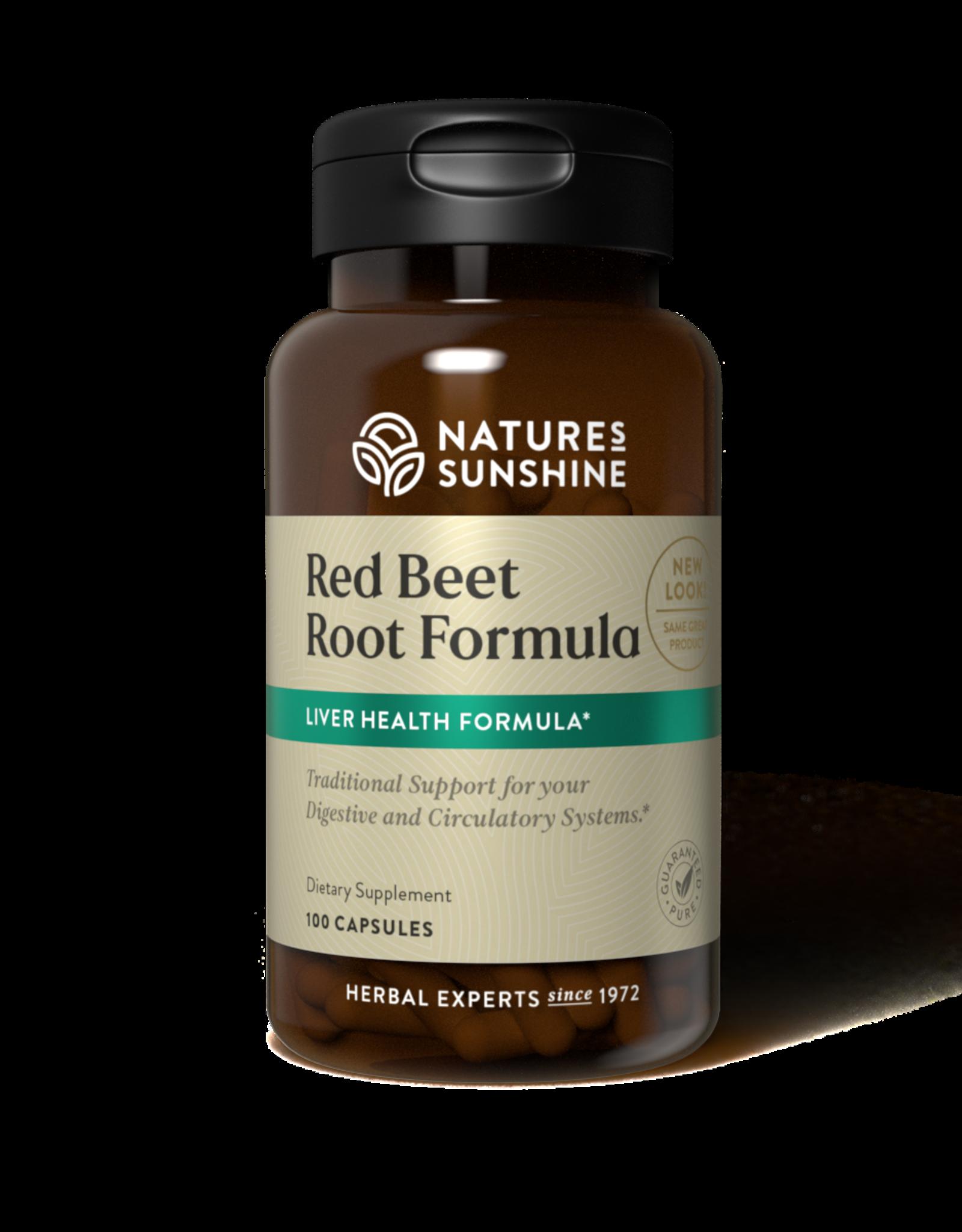 Nature's Sunshine Red Beet Root Formula (100 caps) (ko)