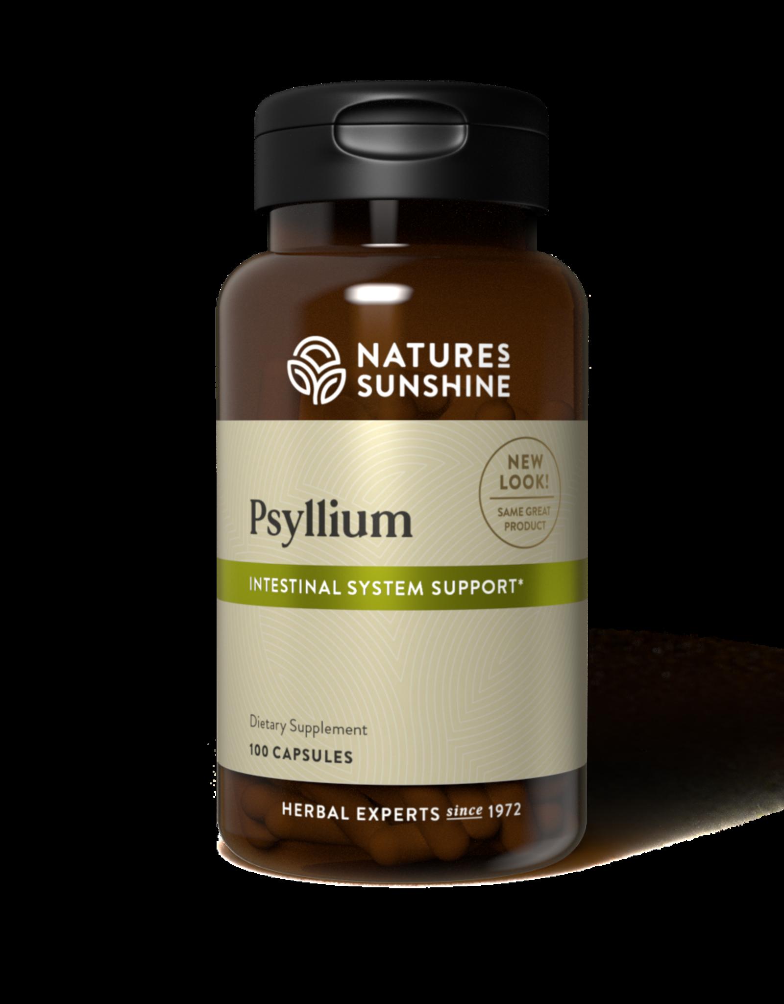 Nature's Sunshine Psyllium Seeds (100 caps) (ko)