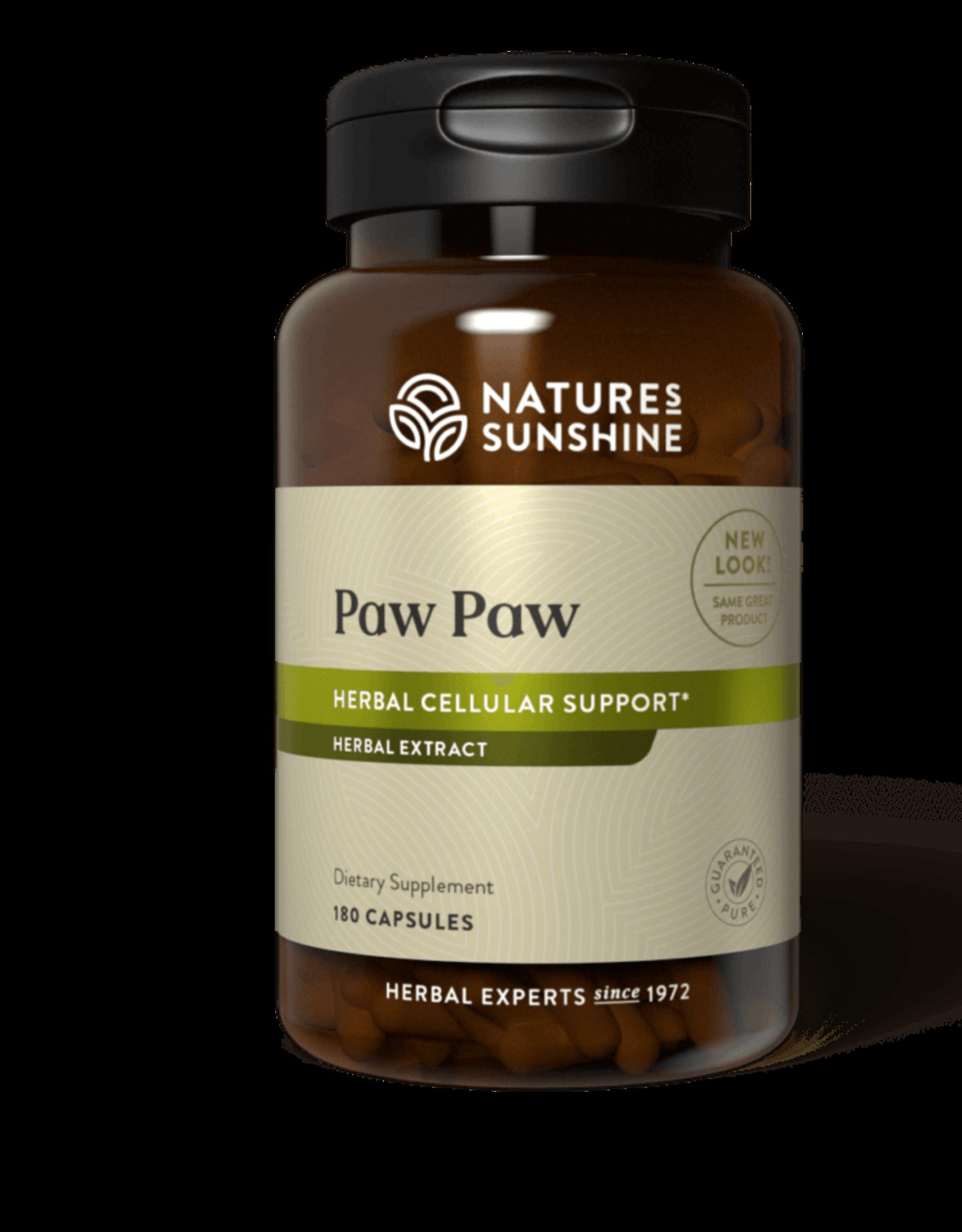 Nature's Sunshine Paw Paw Cell-Reg (180 caps) (ko)