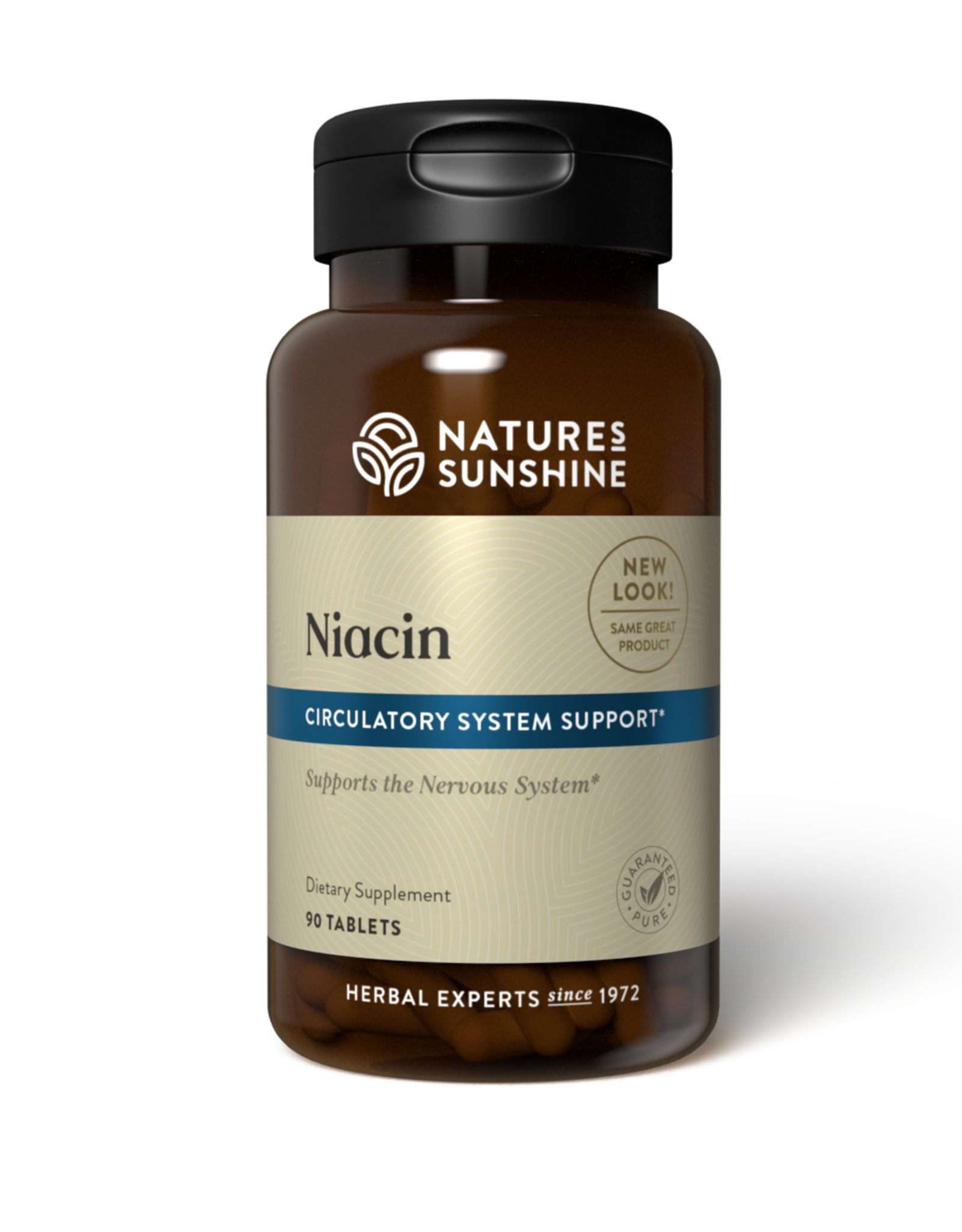 Nature's Sunshine Niacin (90 tabs) (ko)