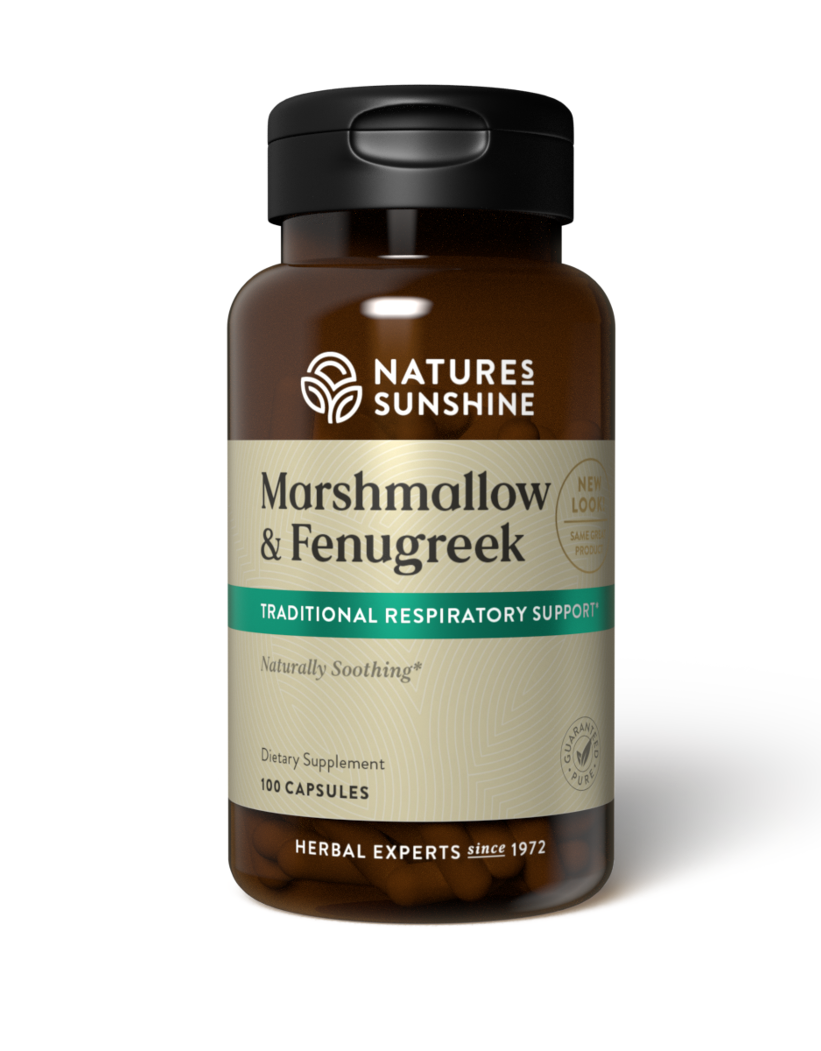 Nature's Sunshine Marshmallow & Fenugreek (100 caps) (ko)