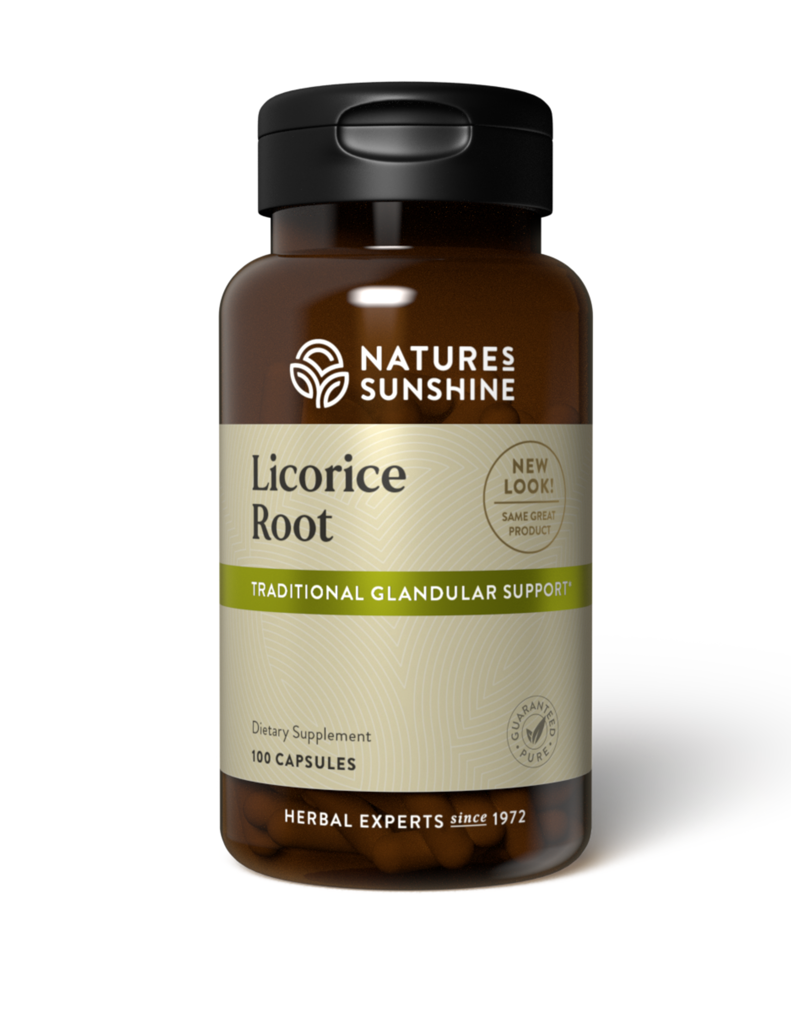 Nature's Sunshine Licorice Root (100 caps) (ko)