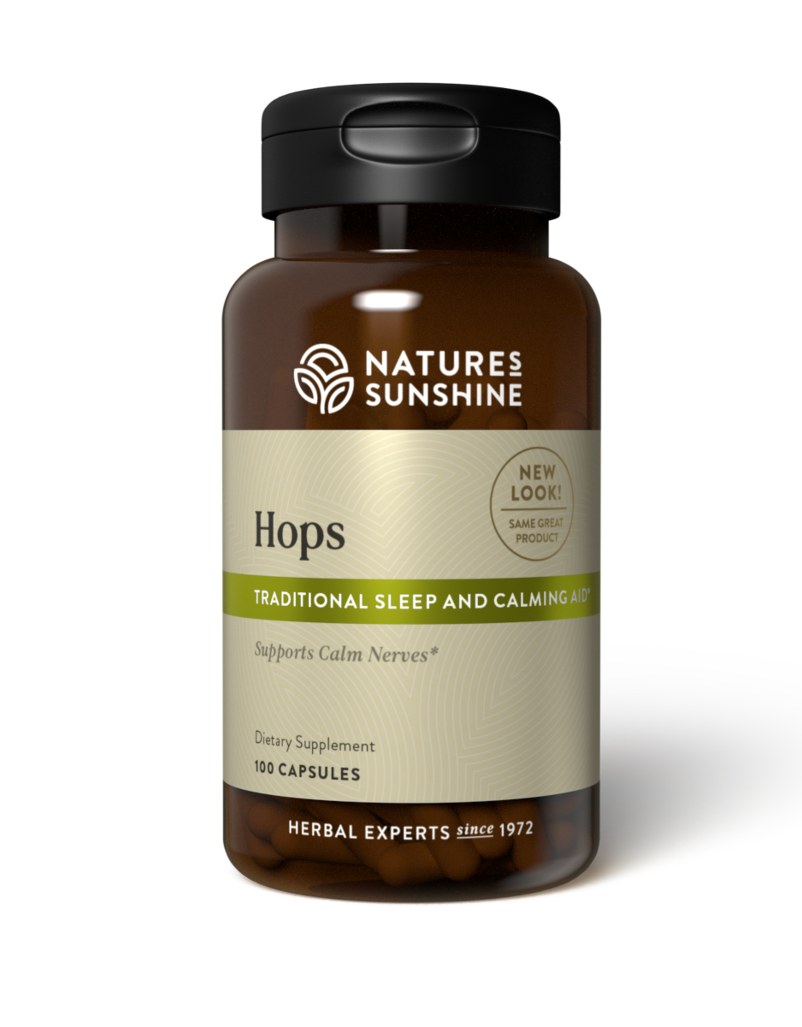 Nature's Sunshine Hops (100 caps) (ko)
