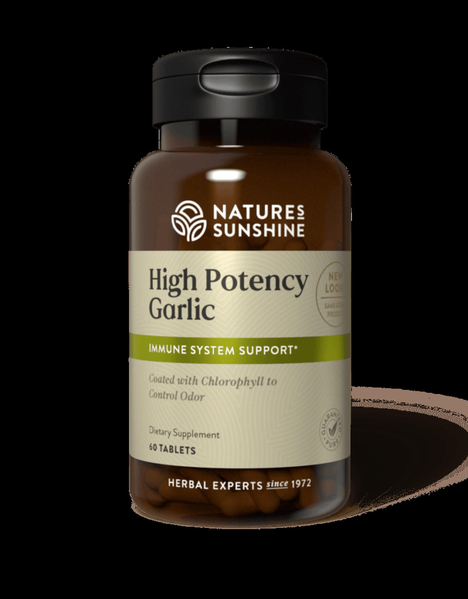 Nature's Sunshine Garlic, High Potency, SynerPro (60 tabs) (ko)