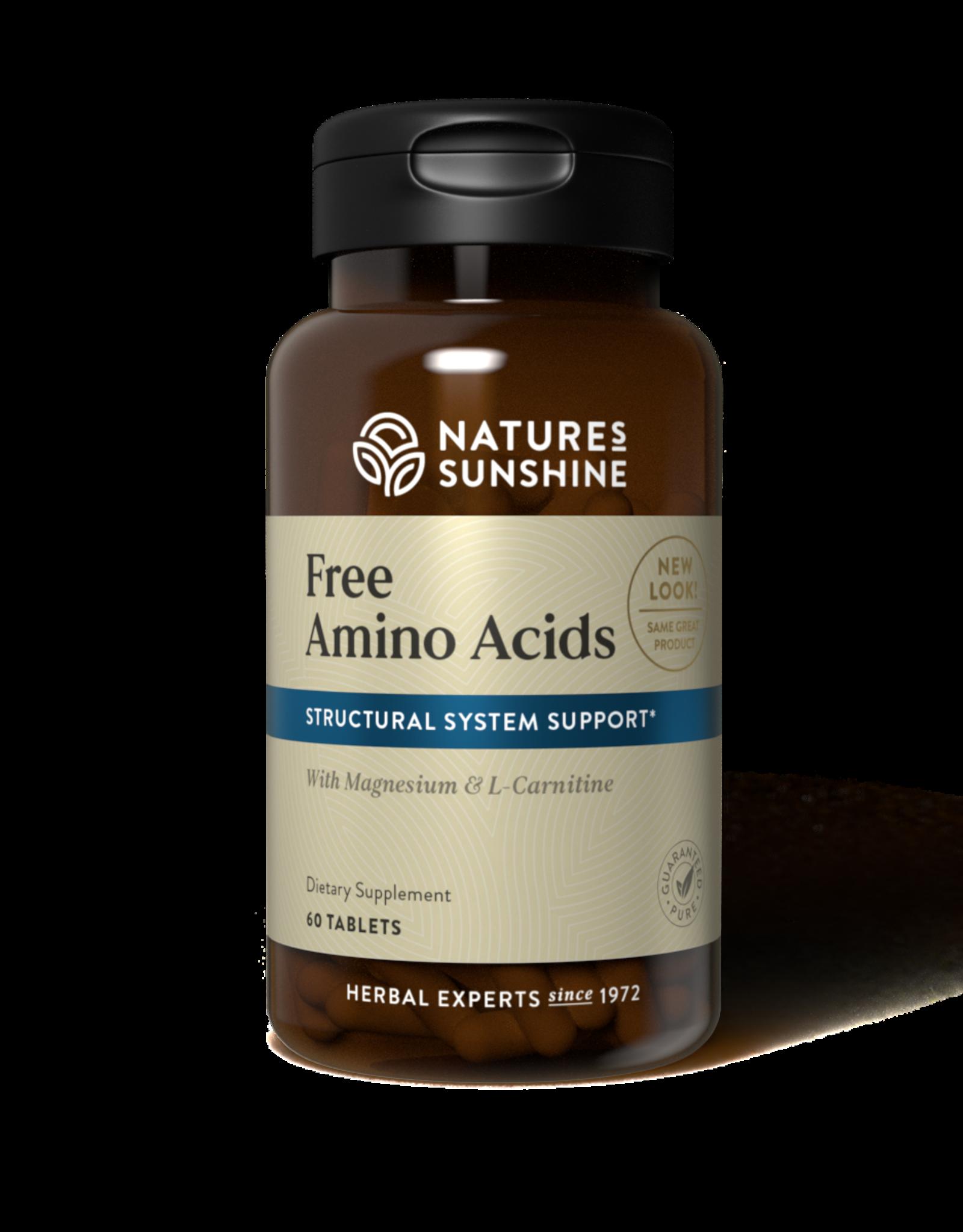 Nature's Sunshine Free Amino Acids (60 tabs)