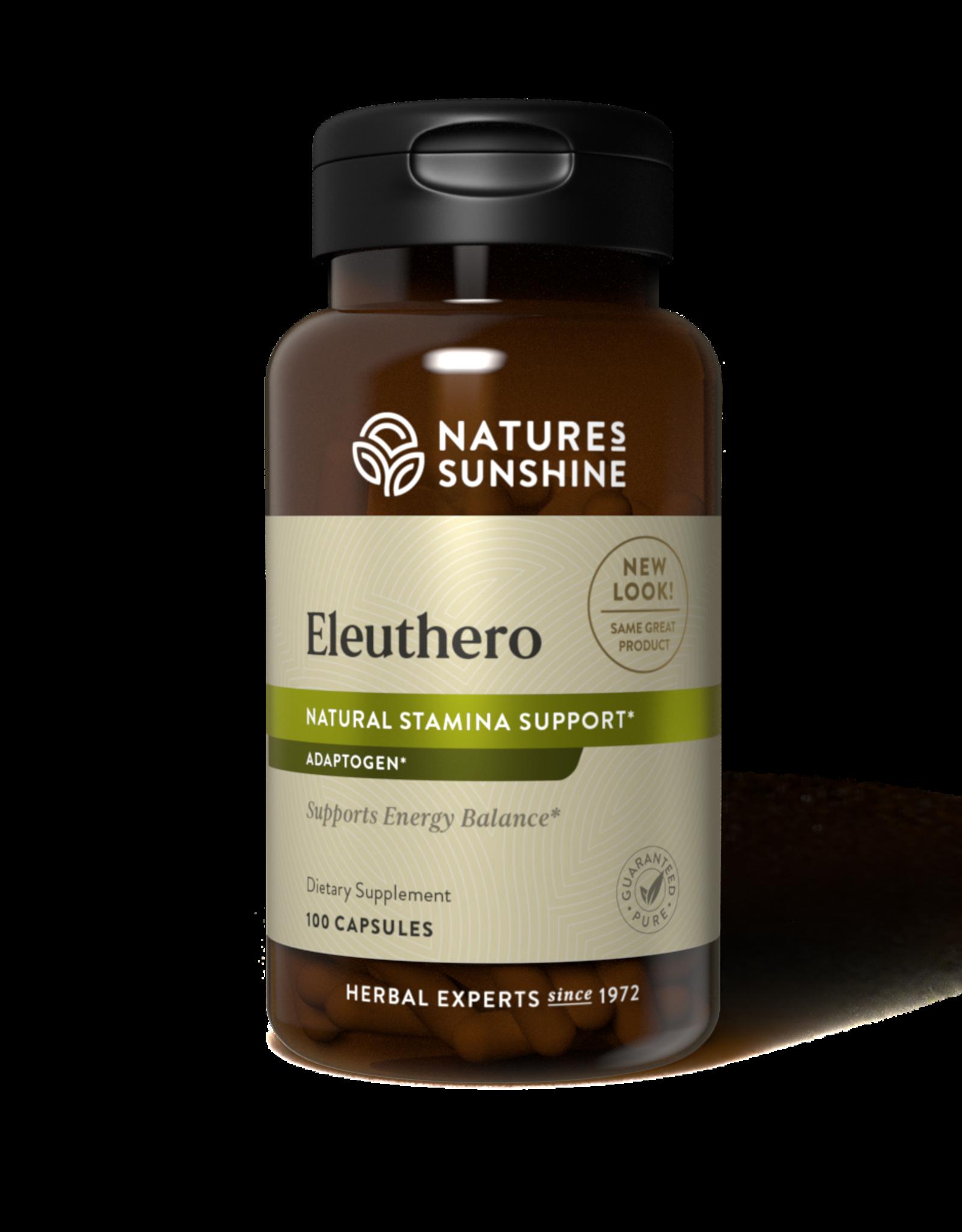 Nature's Sunshine Eleuthero (100 caps) (ko)