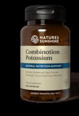 Nature's Sunshine Potassium, Combination (180 caps) (ko)