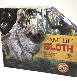 I AM LIL SLOTH  100 PIECE PUZZLE