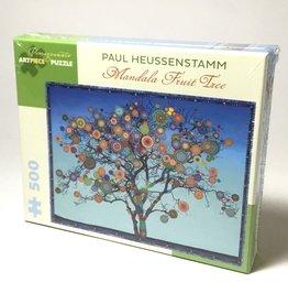 MANDALA FRUIT TREE 500 PIECE PUZZLE