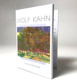 WOLF KAHN FOLIO NOTES