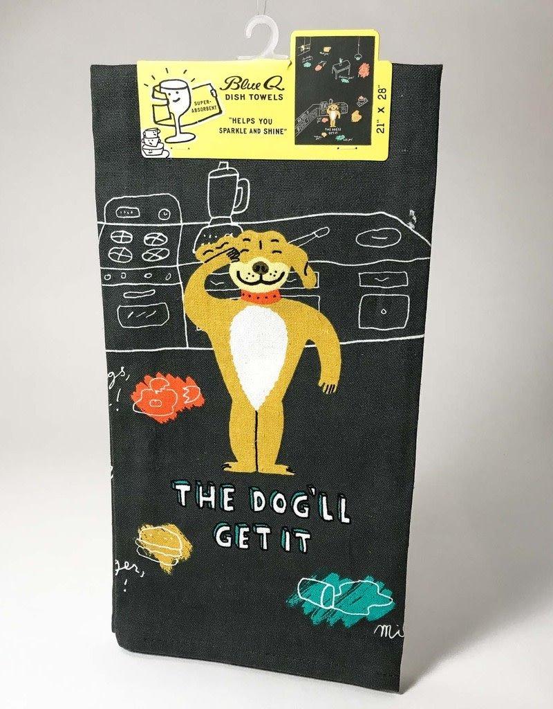 THE DOG'LL GET IT TOWEL
