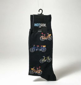 MEN'S BLACK BIKE SOCKS