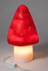 SMALL RED MUSHROOM LAMP