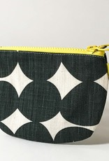 GREY PEBBLE SMALL ZIP BAG