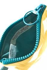 YELLOW PEBBLE SMALL ZIP BAG