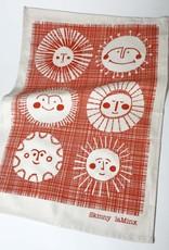 SUNS COTTON LINEN TEA TOWEL