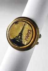 PARIS  POP ART BUBBLE RING