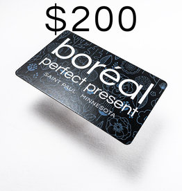 GIFT CARD 200.00