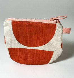 ORANGE BOWLS SMALL ZIP BAG
