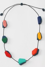 MULTICOLOR FLOATING HELENA NECKLACE