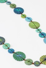 GREEN AND BLUE LEILANI NECKLACE