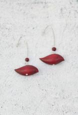RED ROBIN EARRINGS