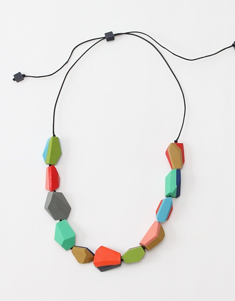 MULTICOLOR CHUNKY HELENA NECKLACE
