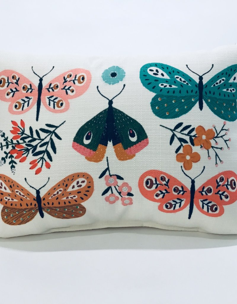 BOTANICAL BUTERFLY PILLOW
