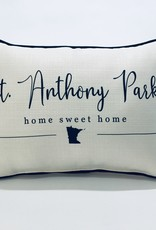 ST ANTHONY PARK MN HOME SWEET HOME PILLOW