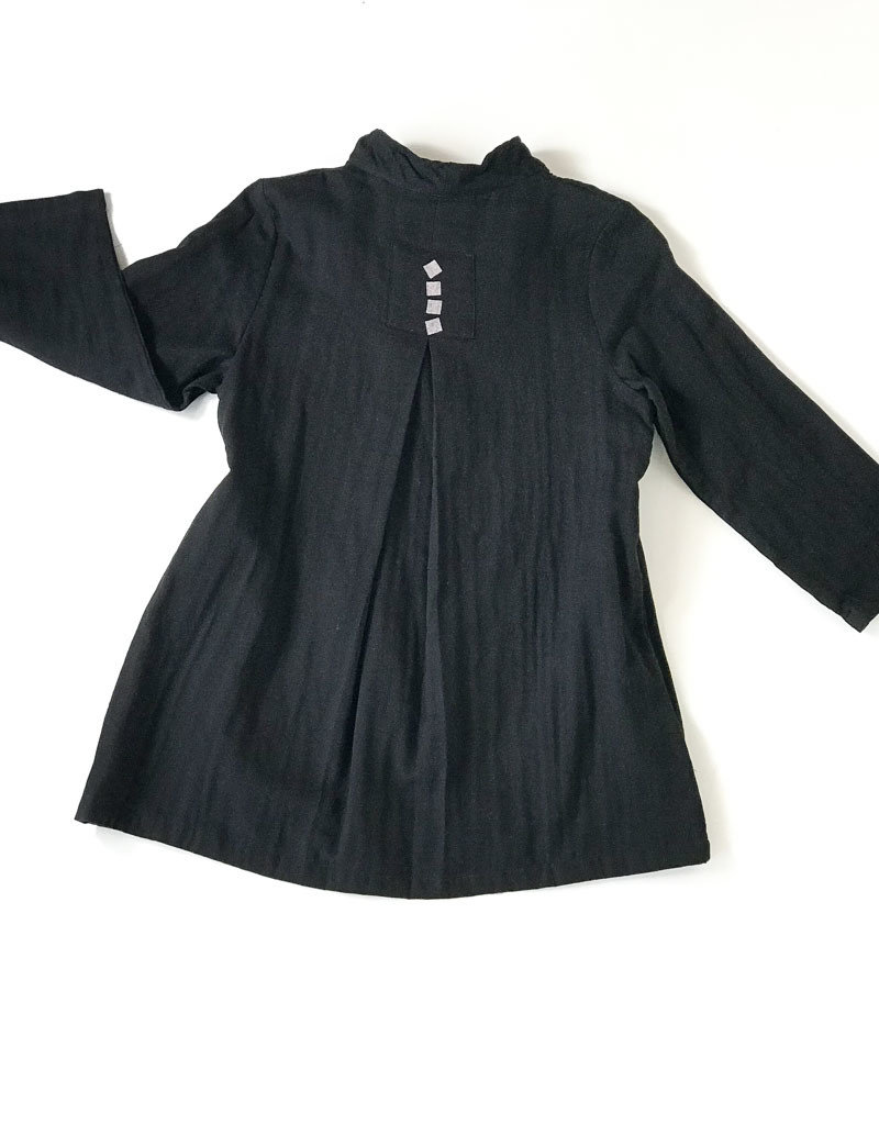 BLACK SQUARE JACKET
