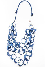 BLUE ADELYN NECKLACE