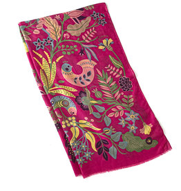SOUTH AMERICAN FLORAL SCARF