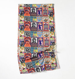 ROCK 'N' ROLL POSTERS SCARF
