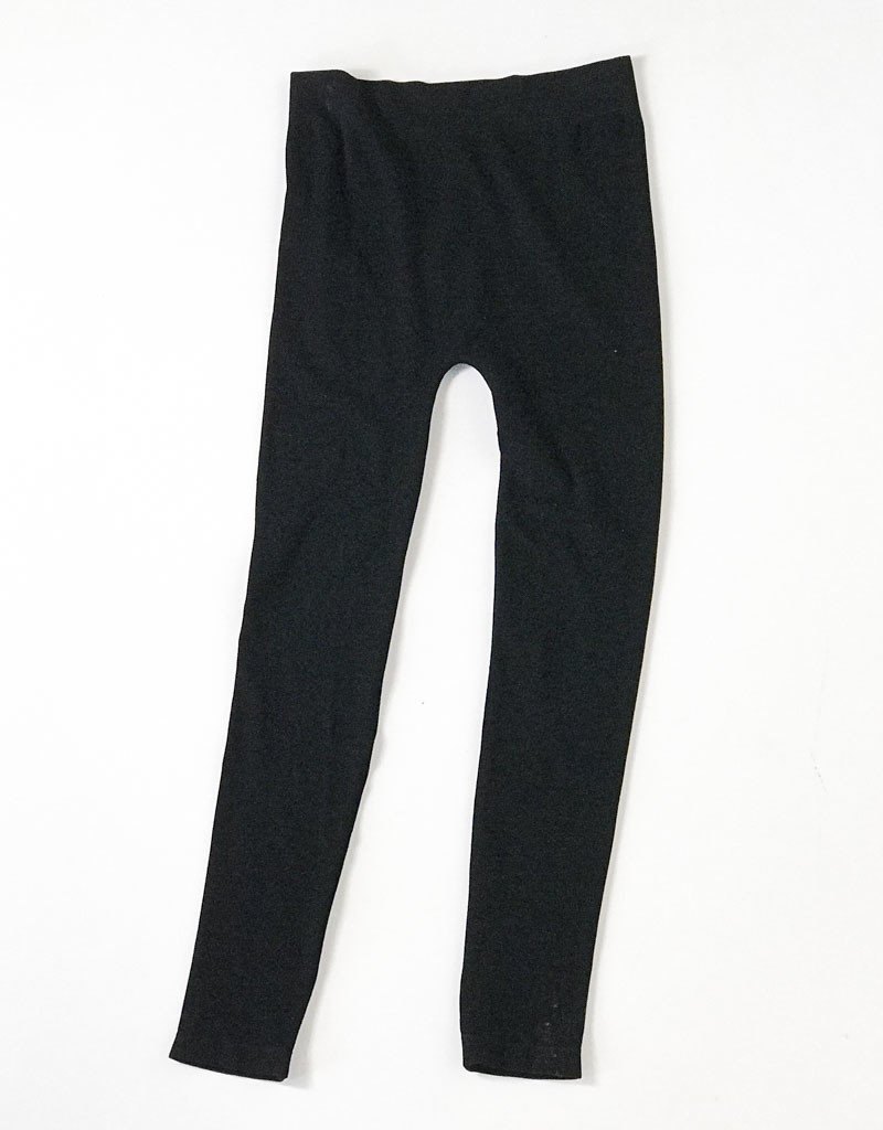 BLACK BAMBOO LEGGING FULL LENGTH
