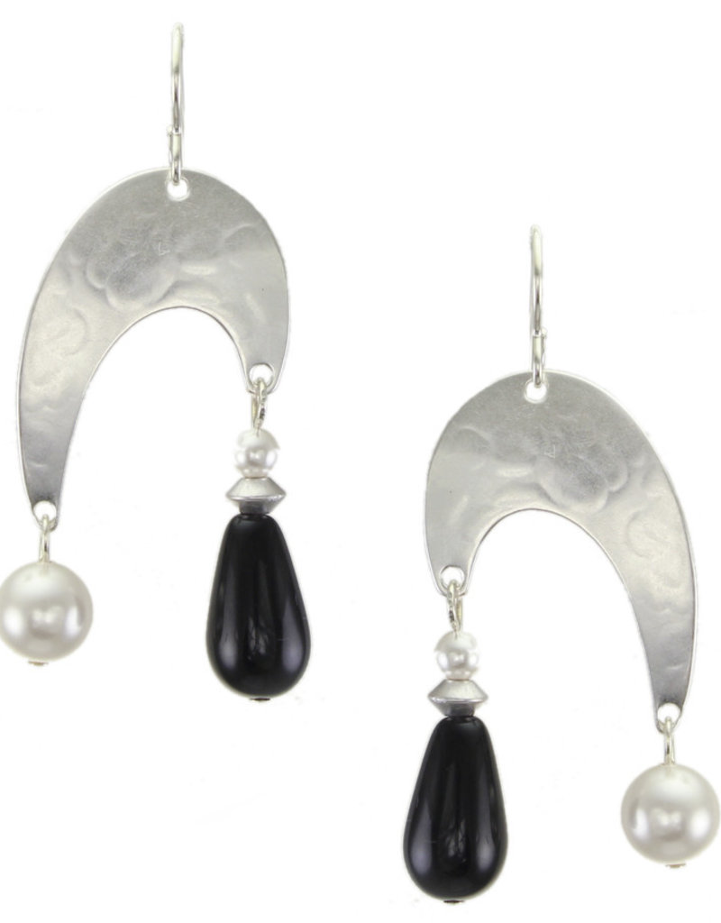 SILVER MATISSE LIKE PEARL AND ONYX