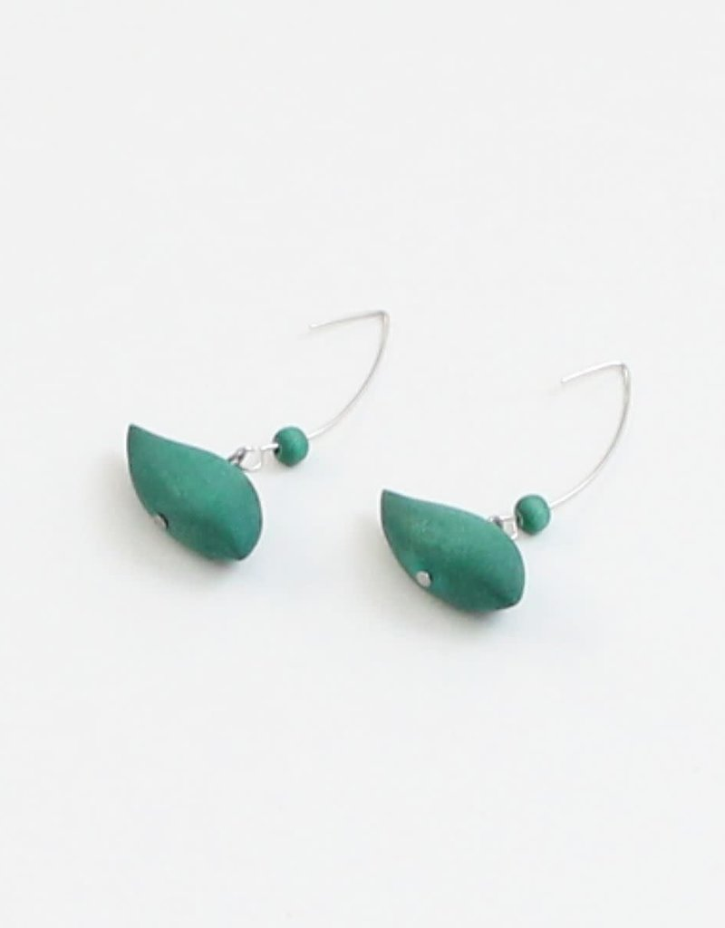TURQUOISE ROBIN EARRINGS