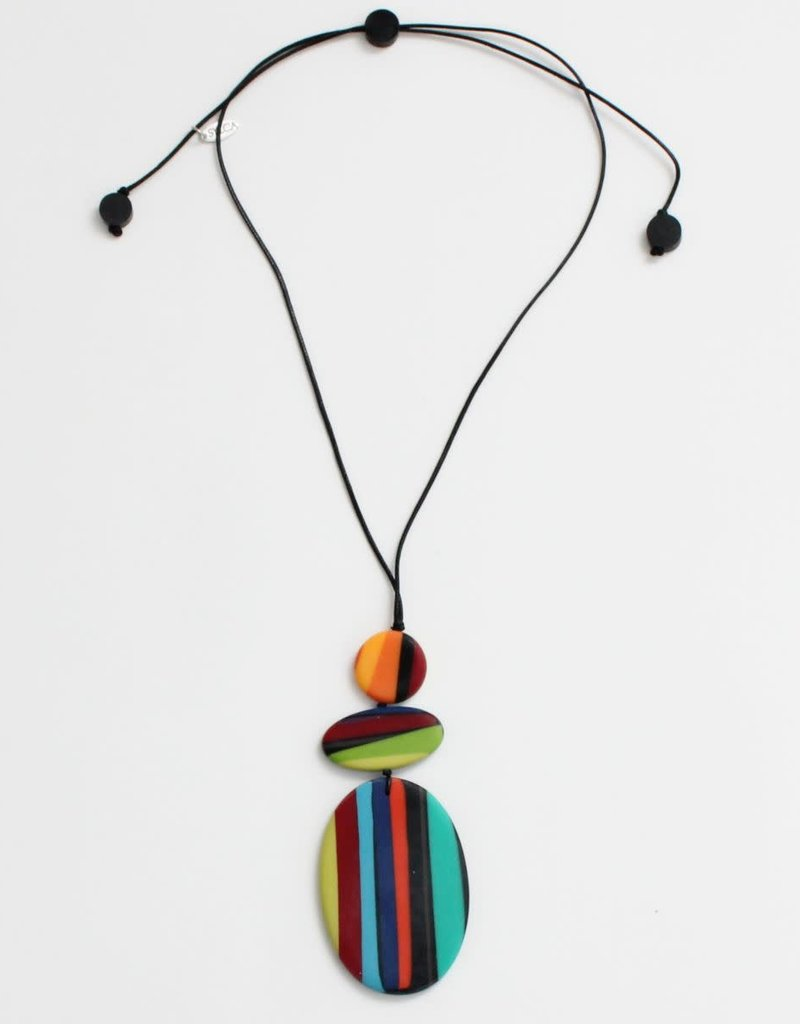 MULTI COLOR DARCY PENDANT